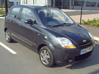 2007 57 12 MONTH MOT CHEVROLET MATIZ 1.0 SE 5DR - *GREAT CAR* -FSH - CHEAP INSURANCE CHEAP CAR – PX