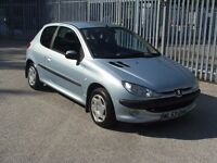 PEUGEOT 206 LX 3 DOOR 1.1Ltr MOT November Only 85000 Miles
