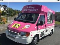 Ice cream van for sale £13000