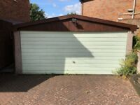 Double Garage for Sale, External Dimensions 5.08 x 6.35 Meters