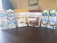 Juice Plus shakes and milk
