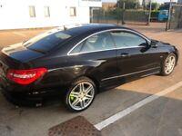 Mercedes-Benz, E CLASS, Coupe, 2009, Semi-Auto, 2987 (cc), 2 doors