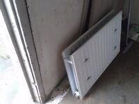 Free white radiator