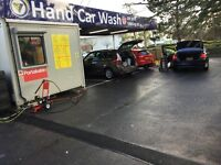 HAND CAR WASH .. WORKER WANTED