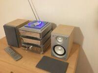 Hitachi hi fi component stereo system