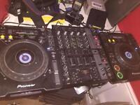 Cdjs & mixer