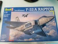 Fighter plane f22 model kit