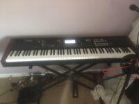 Yamaha Moxf8 88 key workstation