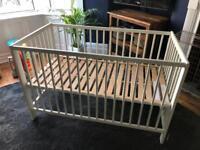 Ikea cot / cot bed