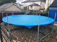 12ft trampoline base and cover