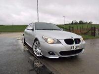 BMW 5 SERIES 2.0 520D M SPORT 4d AUTO 161 BHP 6 Month RAC Parts & Labour Warranty Years