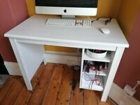 White desk ikea