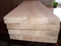 Oak/pine planks, boards, shelves, stair treads,cill,sill,timber, Hardwood,table top, For Any Size !