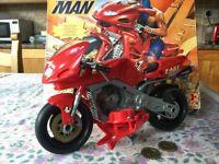 Hasbro Action Man Super Bike with original box