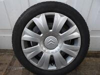 Citroen steel wheels
