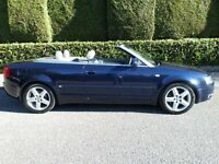 2003/53...AUDI A4 1.8 T-SPORT CONVERTIBLE..MOT/MAY 2017..JUST HAD 4 TYRES AND CAM BELT