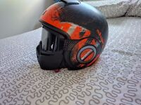 Shark Raw Outcast motorbike Helmet, mint condition