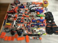 Nerf guns and accessories - bargain