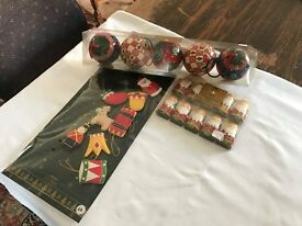 Classic, Vintage Style Christmas Decorations Unused and in Original Wrapping from M&S