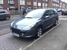 Peugeot 307, 57 plate, new mot and tax