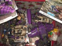 Box of Halo Mega bloks + unused lego technic
