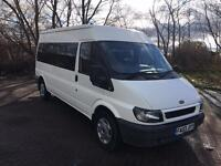03 REG FORD TRANSIT 2.4-RARE AUTOMATIC-NO VAT-15 SEAT MINI BUS-CLEAN ON BODY-DRIVES GREAT