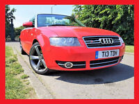 "Nice Audi A4 Cabriolet 3.0 Sport Cabriolet --- Automatic --- Navigation"" Full Leather ---Convertible"