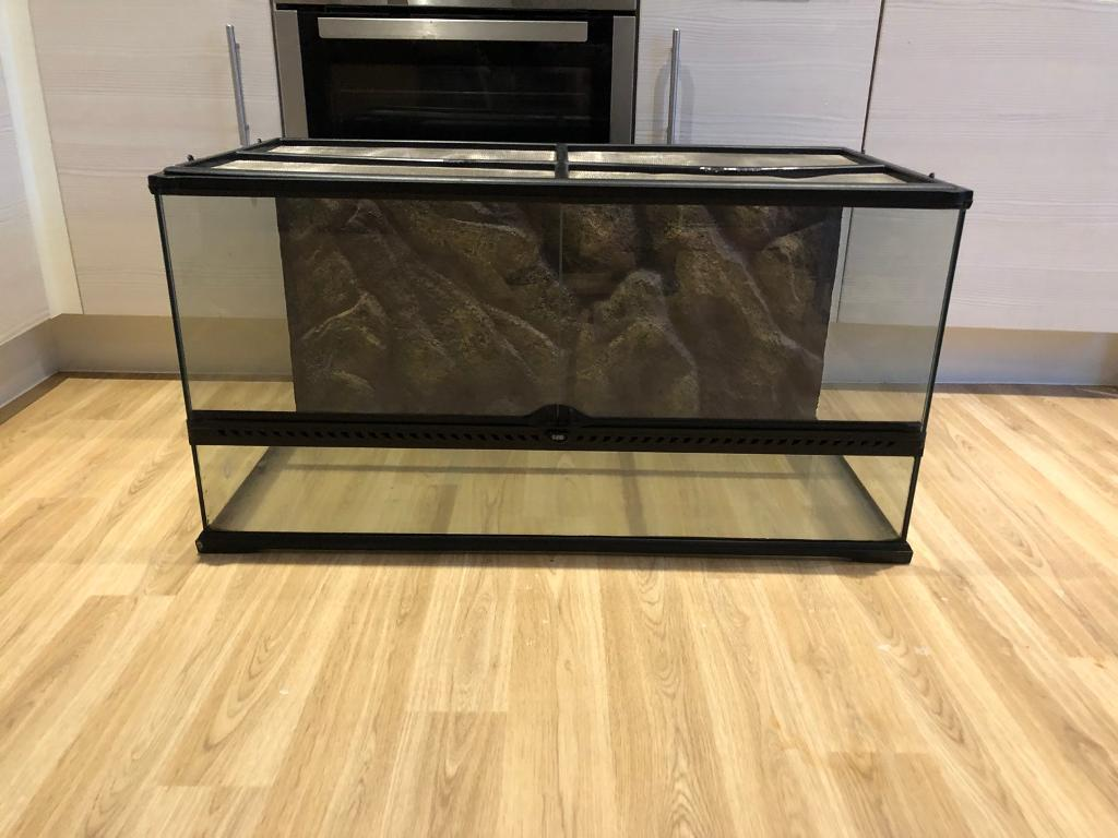 Exo Terra Natural Vivarium Reptile Tank Large Wide In Bury
