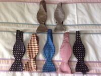 7 Silk Self Tie Bow Ties