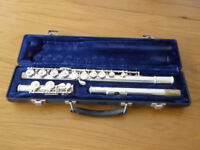 Blessing Student Flute (Silver Plated) in hard case