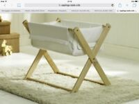 Saplings Katie Crib Natural/Cream - £45.00
