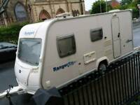 Bailey Ranger 470/4, 4 birth caravan with porch awning and extras