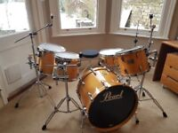 Pearl Masters Maple MMX Drum Kit Drums