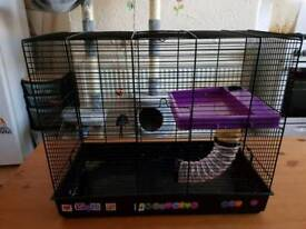 Large hamster or rat cage