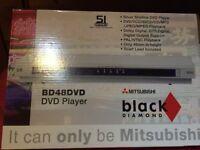 Mitsubishi BD48 DVD Player Black