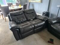 FREE 3 seater 2 seater reclining sofas