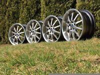 PLW deep dish alloy wheels, 18inch, 5x112, Audi Mercedes Vw RARE