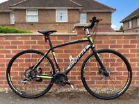 Sprint whisper 28 hybrid bike