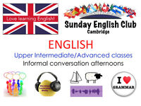 LOW-COST English lessons on Sundays: Speaking, Listening, Grammar etc - small friendly group