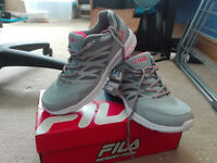 Brand new FILA women's memory technique treiners size 5