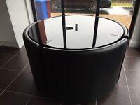 Dwell Rotunda Dining Set (Black Gloss)