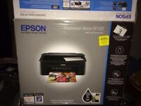 EPSON EXPRESSION HOME XP202 WIFI + HP ALL-IN-ONE PRINTER