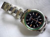Rolex Milgauss Oyster Perpetual Automatic Rec.