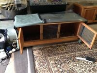 just rain cover v g c for 4 ft rabbit hutch /cage in excellent condition u can look pic