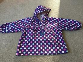 JoJo Maman pack-away pixie jacket