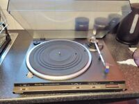 technics tuner/amplifier . Tape deck . Turntable . No offers .