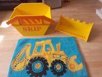Next boys digger accessories - toy storage