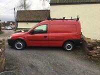 Vauxhall Conbo 1.7 Diesel Van. Ex Fire Service vehicle. Full service history.