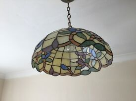 Tiffany ceiling lampshade