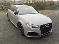 2016 AUDI RS3 BLACK PACK CONVERSION S TRONIC NARDO GREY PX SWAP C63 A45 M3 RS4 S3 GTD RS6 M5